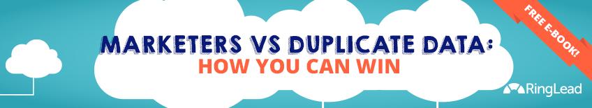 marketers duplicate data