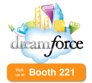 Visit us at Dreamforce 2012