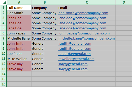 Conditional Formatting 7