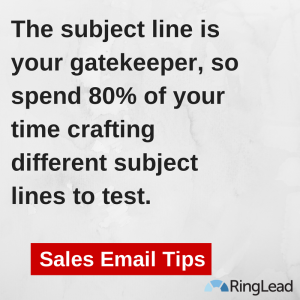 Sales Email Tips